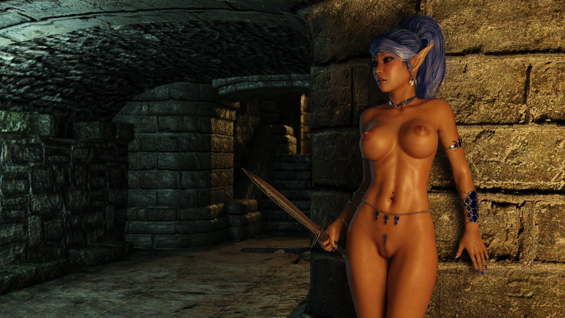 Body building woman having sex