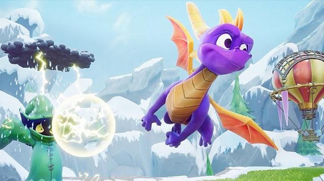 شاهد من هنا أول نظرة عن الجزء الثالث من تجميعة ريميك Spyro Reignited Trilogy و أجواء رهيبة ..