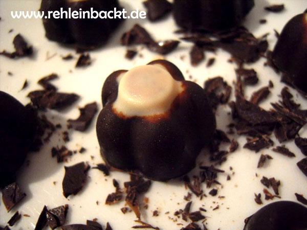 Schoko-Joghurt-Pralinen selbst gemacht - Der Frufoo-Fake | Foodblog rehlein backt