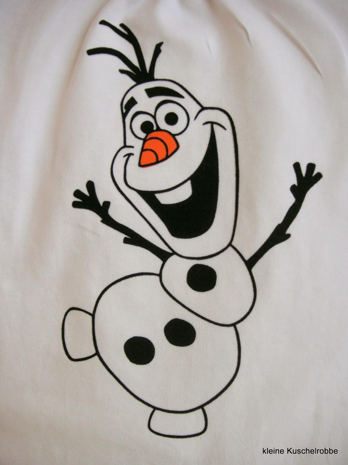 Malvorlagen Eiskönigin Olaf