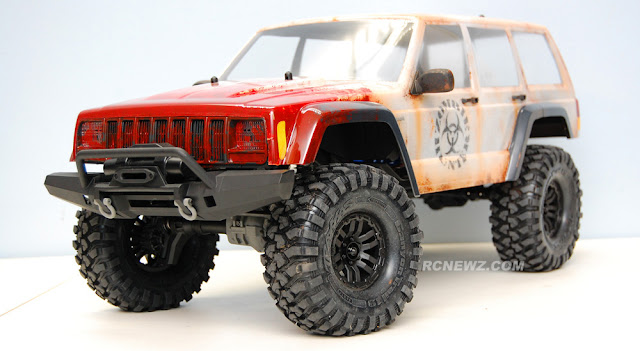 Traxxas TRX-4 custom paint job