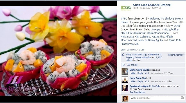 cny dragon fruit salad recipe asian food channel