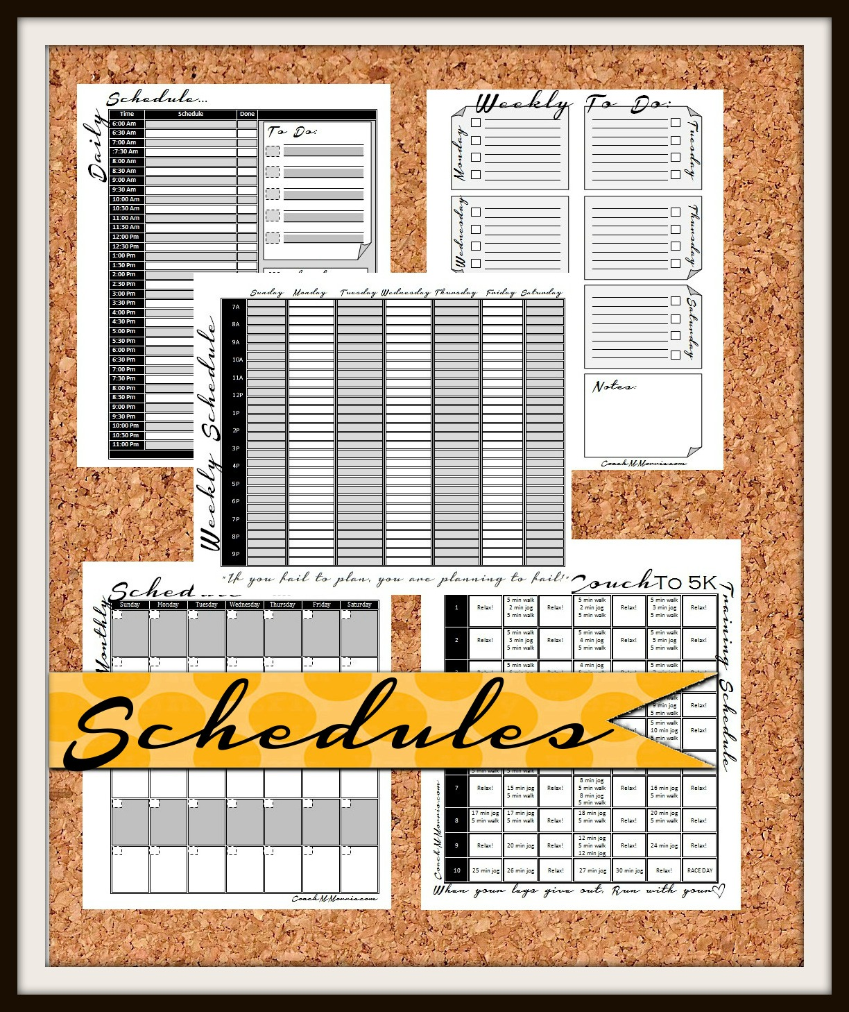 Meal Planning Worksheet Fitness