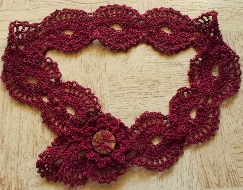 free crochet belt pattern