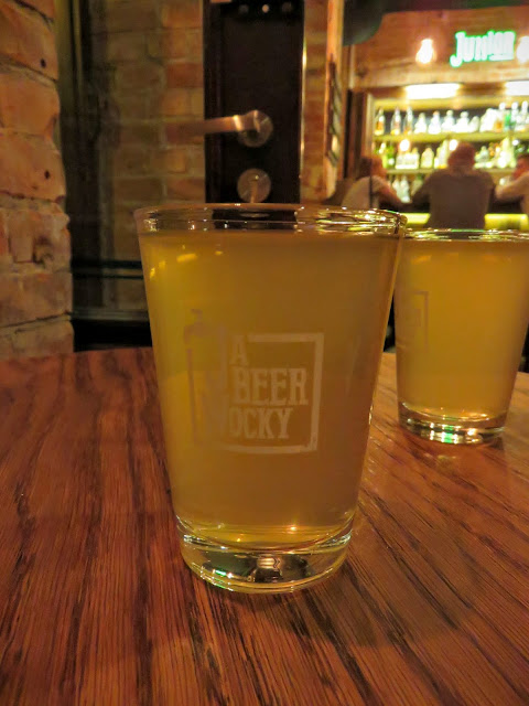 Cider at JaBeerWocky in Warsaw, Poland