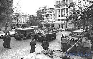 Азербайджан. Тревожное время 1990 года