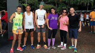 Os treinos reduzem a gordura corporal,  melhoram a autoestima, a disposição e o humor. Foto: acervo Equipe Trail CEU Pêra