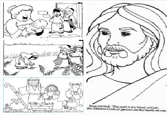 Desenhos e Atividades Bíblicas para educação infantil