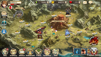 Screenshot Game King's Raid