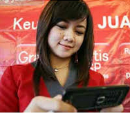 Call Center Telkomsel Paling Cantik di Indonesia I Love You Mba