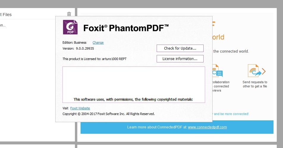 Foxit PhantomPDF Business 9.7.1.29511 + crack + patch (FULL ...