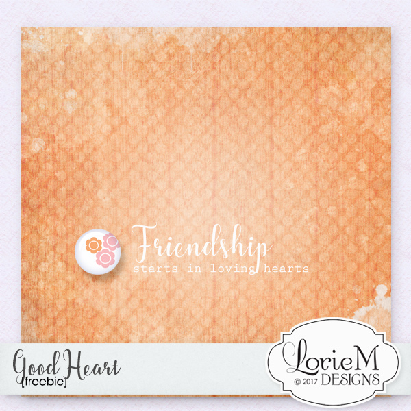Good Heart $1.00 Each + FWP + Freebie