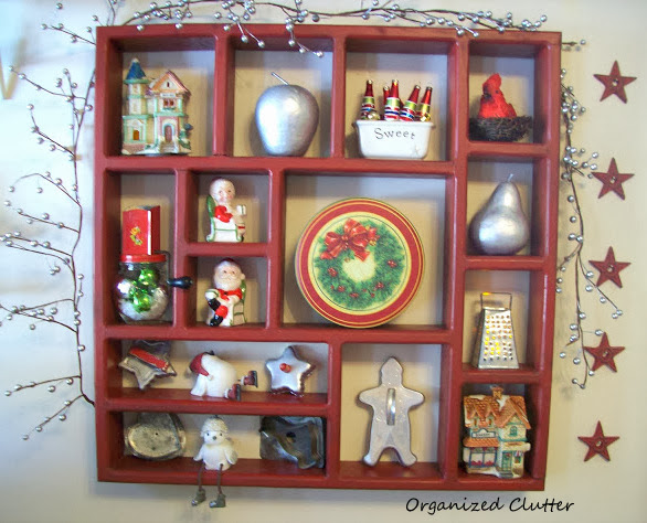 Christmas Kitchen Shadow Box