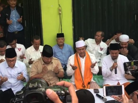 Doa Sapu Jagad Rakyat Boyolali: Dengan Rahmatmu ya Allah, Jadikanlah Prabowo Pemimpin Negeri Ini