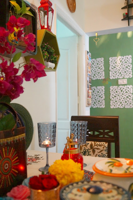 Indian Dining Table Decor