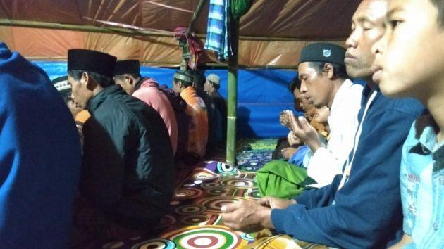 Pengungsi Gempa Berharap Setiap Masjid Gelar Shalat Taubat