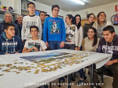 Juzbado, concurso de puzzles