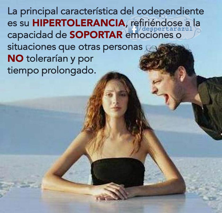 Codependencia e hipertolerancia