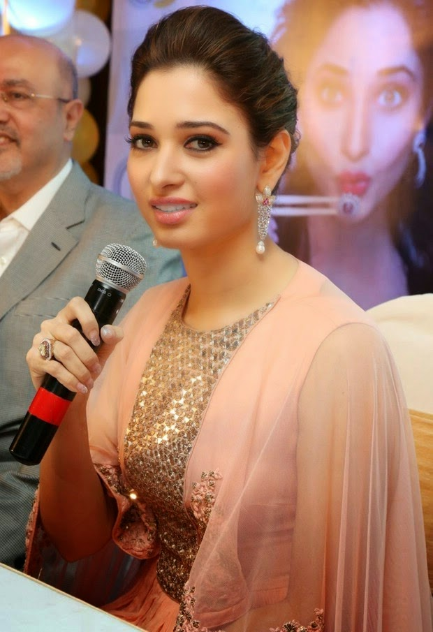 Tamannaah Launches at Wite and Gold Online Jewellery Venture Event Stills