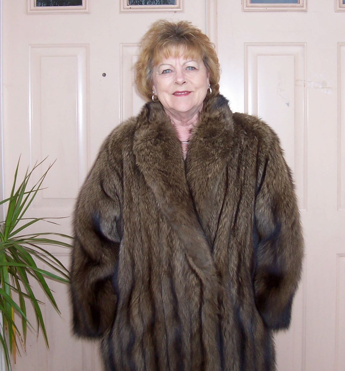 Fur coat women