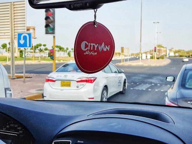 City Van Kuwait Premium Service Logo