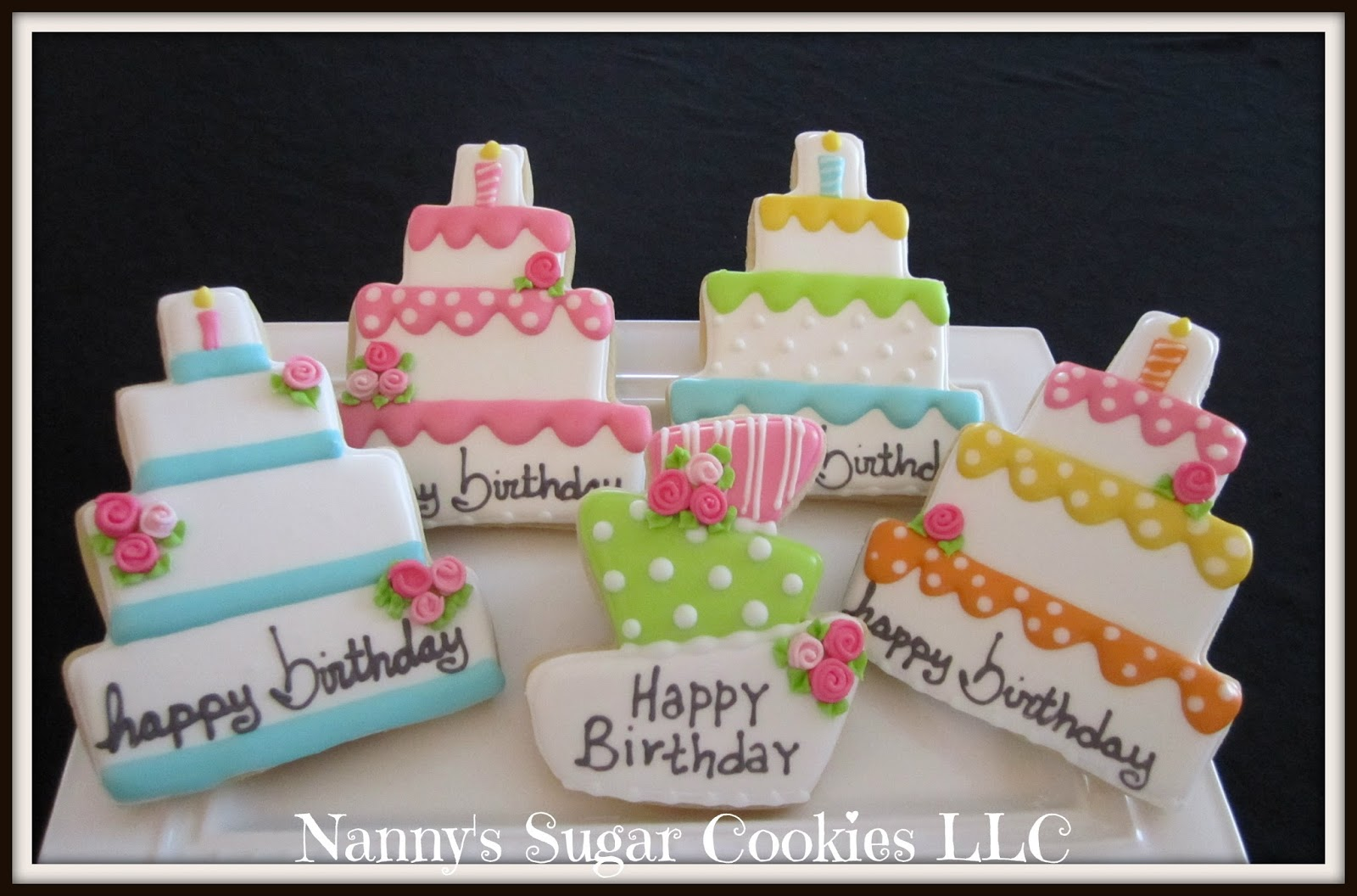 Nannys Sugar Cookies LLC Happy Birthday