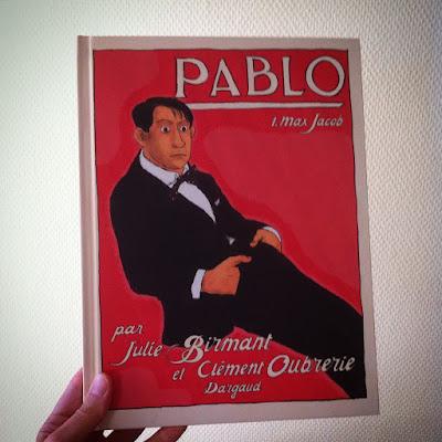 Pablo, une bande dessinée sur Pablo Picasso (Oubrerie-Birmant)