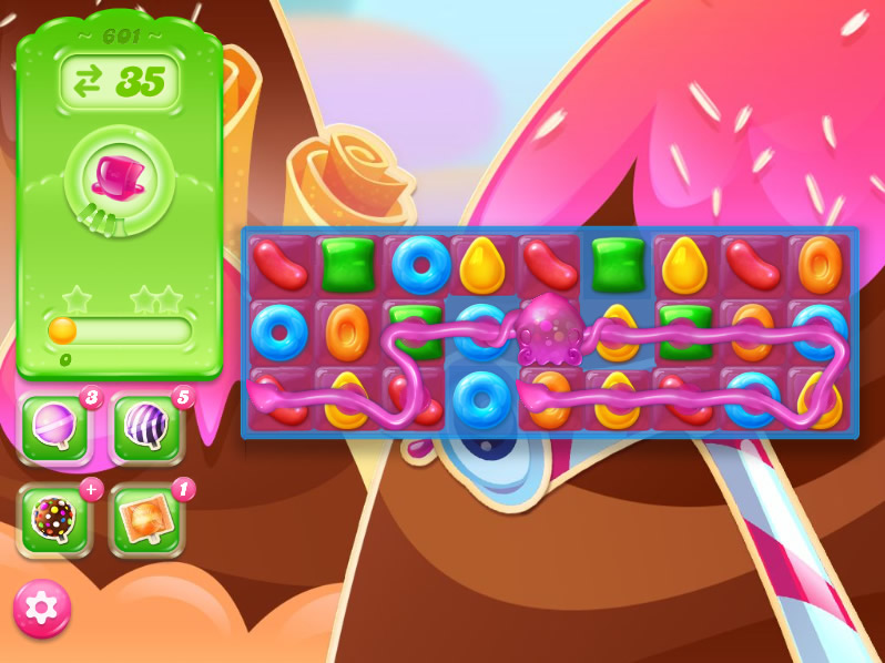 Candy Crush Jelly Saga level 601
