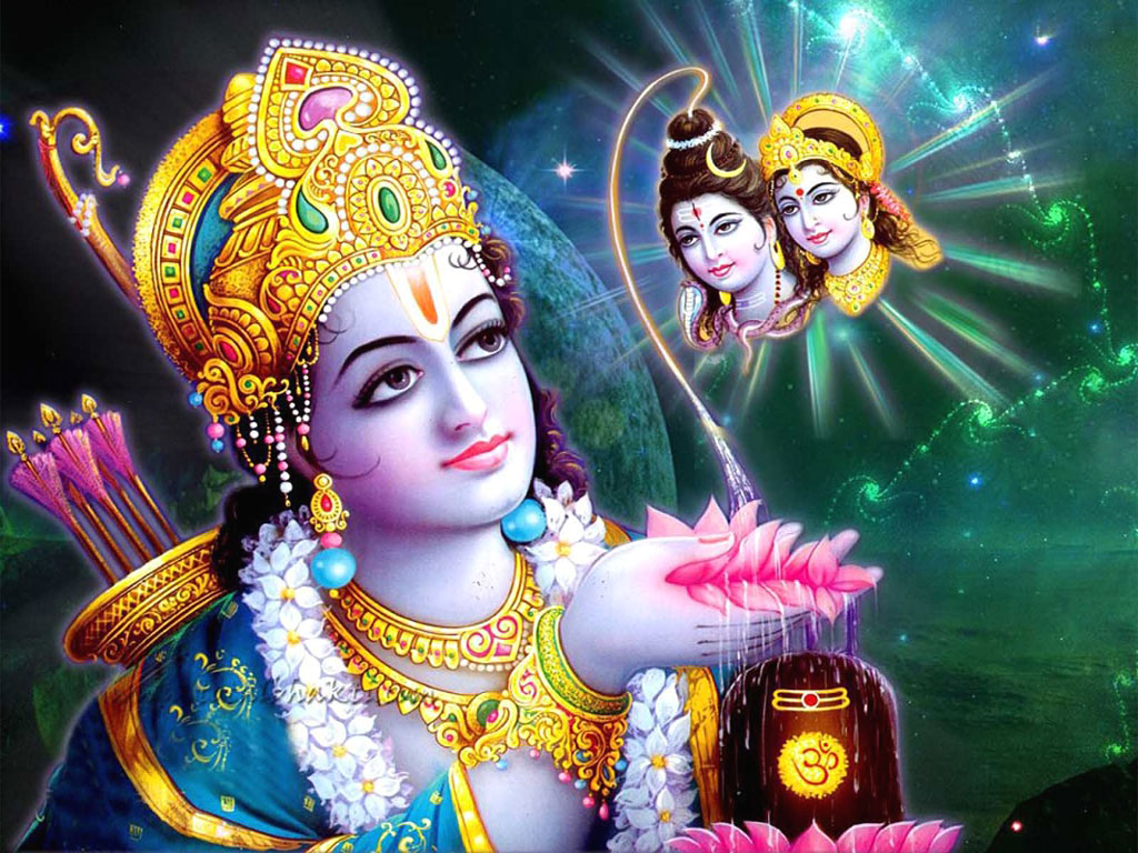 Prayers to Rama & Siva