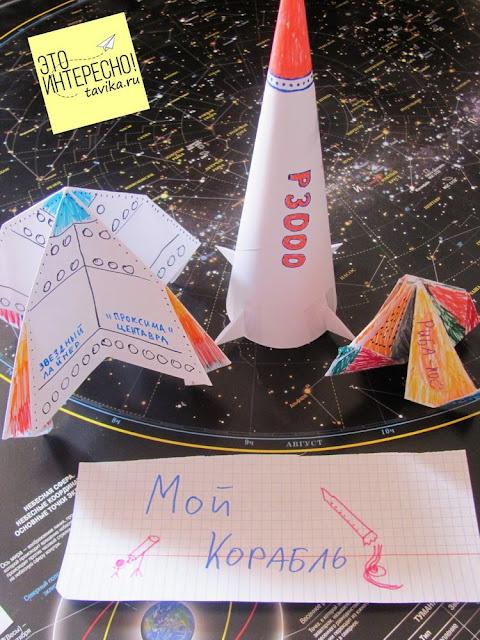 детский праздник на день космонавтики. Задания