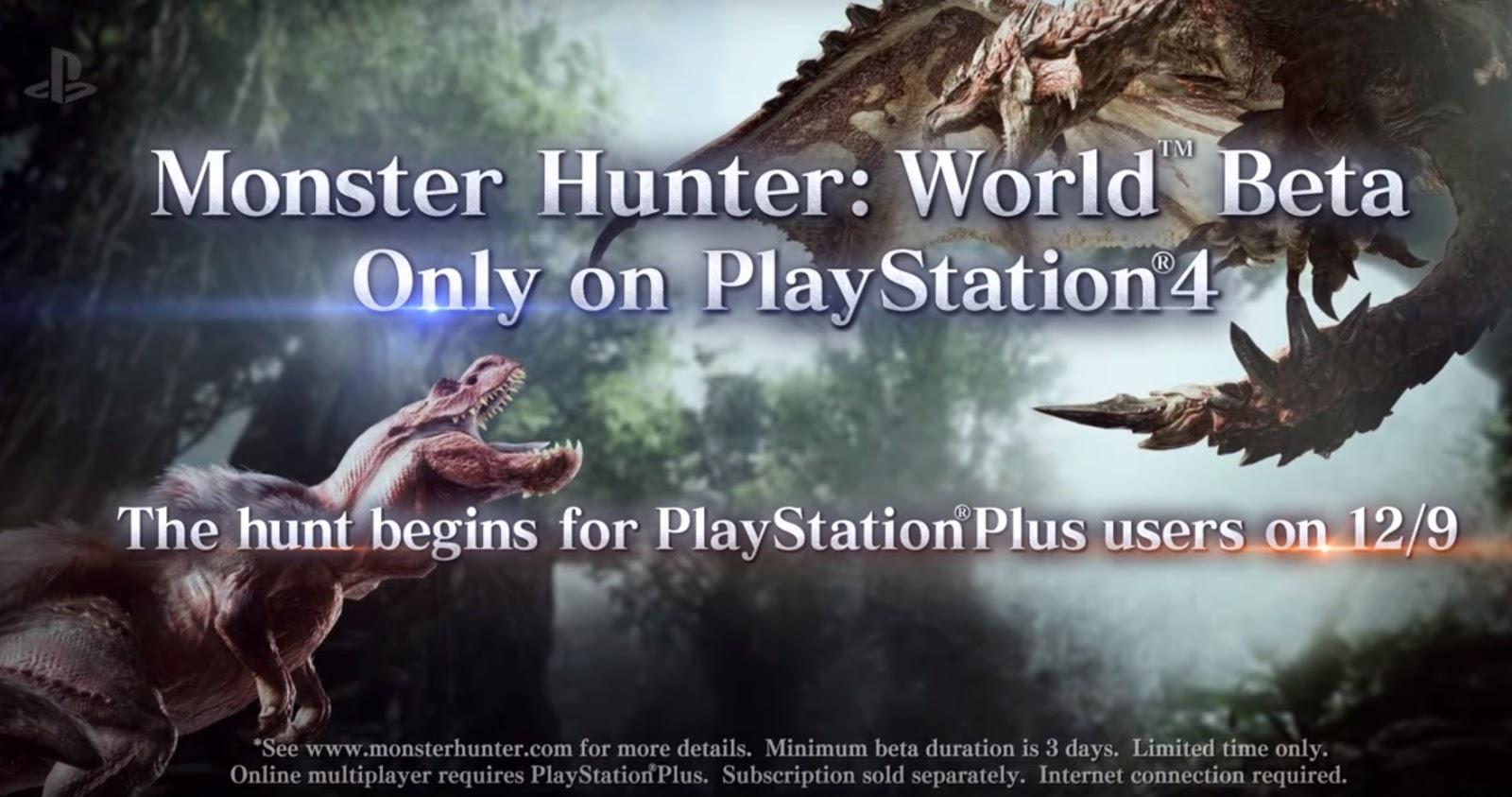 fuzzyLogic Gamer: Monster Hunter: World Beta Access and Hype!