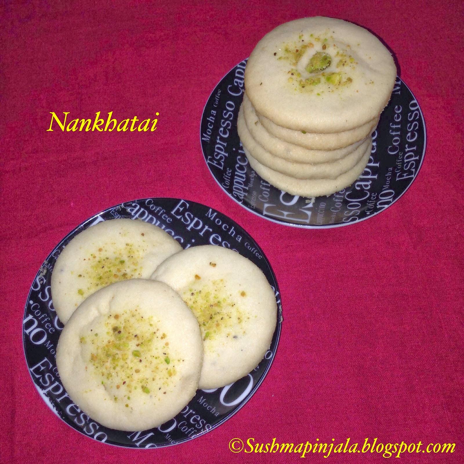 Nankathai / Eggless Cookies