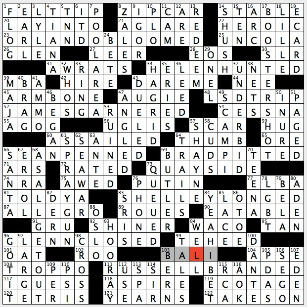 Rex Parker Does the NYT Crossword Puzzle: Doggie of old cartoons ...