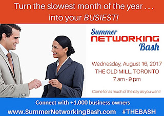 Summer Networking Bash at the Old Mill, Toronto; August 16, 2017