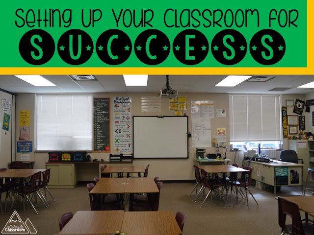 Set up your classroom for back to school success with this great blog post.