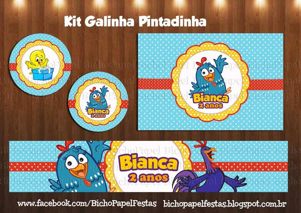 Kit Festa Galinha Pintadinha
