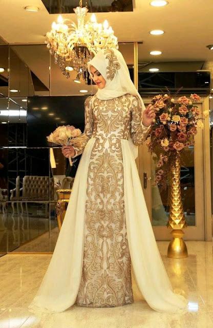 Inspirasi Gaun Muslimah Cantik dan Trendy 2001605