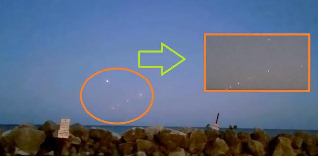 Aida increibles flotillas ufo sobrevuelan los cielos del for Cabina lago north carolina