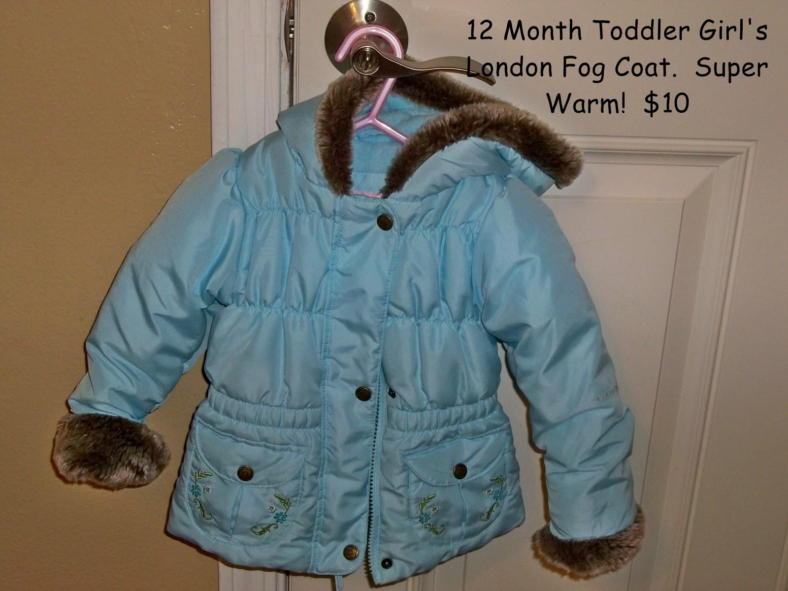 3ce2eb225 Online Garage Sale  PRICE REDUCED! 12 Month Girls Blue London Fog ...