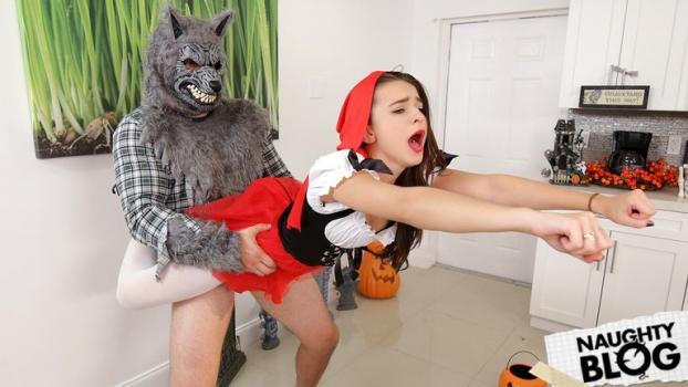 Don't Break Me – Kharlie Stone: Brunette Spinner Fucks on Halloween