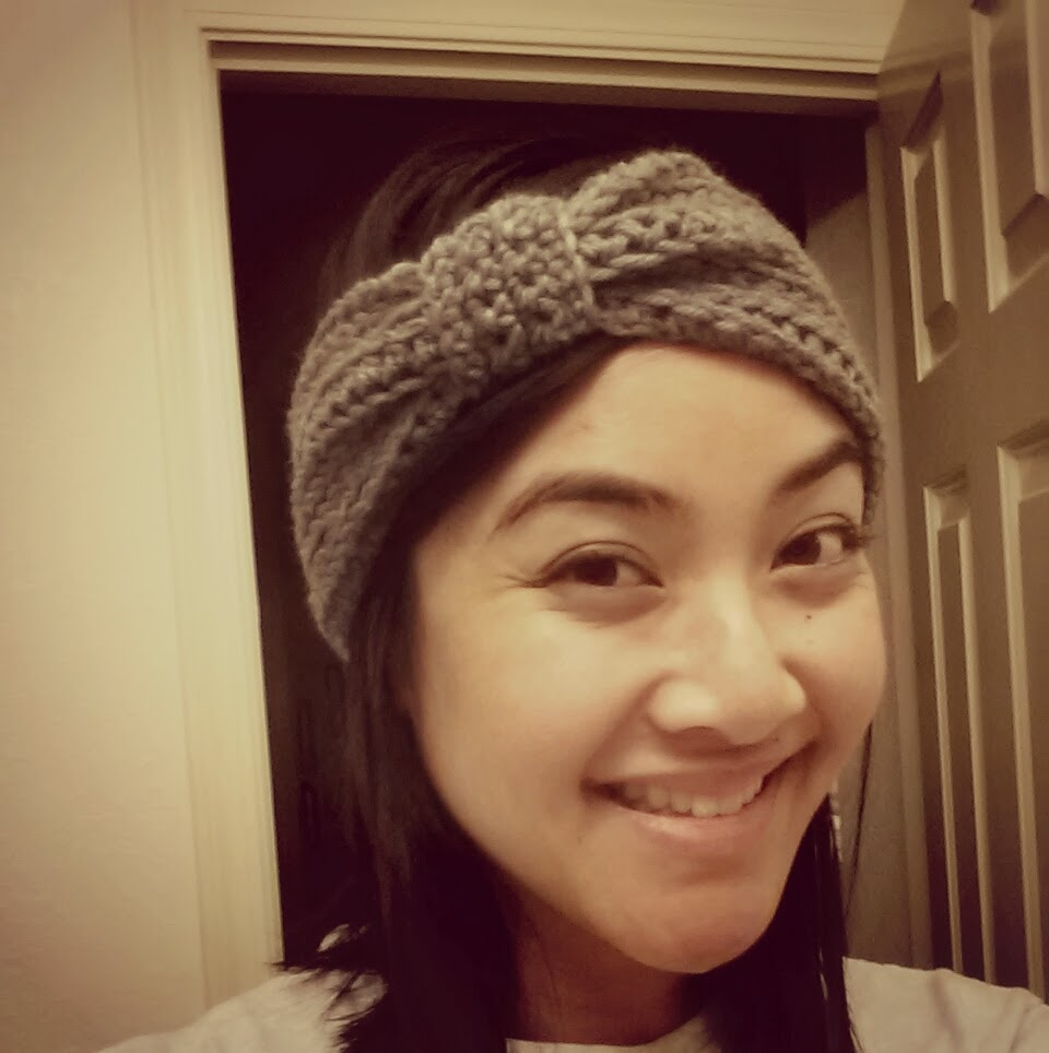 d47059c4 This adorable ear warmer is the perfect addition to a cute winter outfit.  It looks great worn over your hair when it's down, or like a headband when  your ...