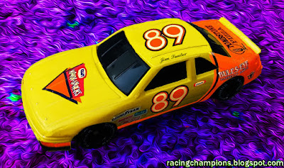 Jim Sauter #89 Handy Snacks Bullseye Kraft Racing Champions 1/64 NASCAR diecast blog 1993