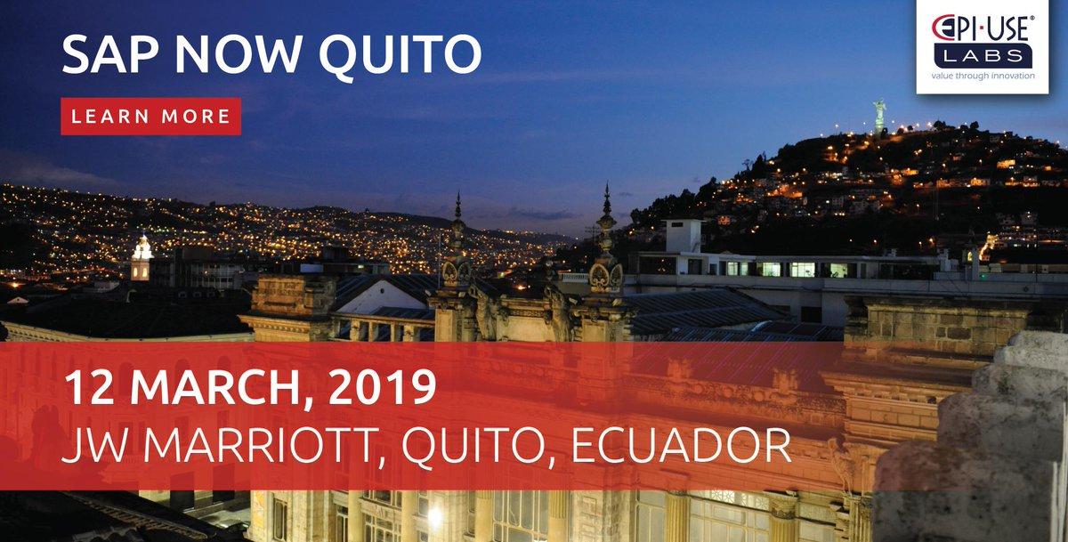 SAP NOW Quito, el evento que revela el secreto mejor guardado de las ciudades inteligentes