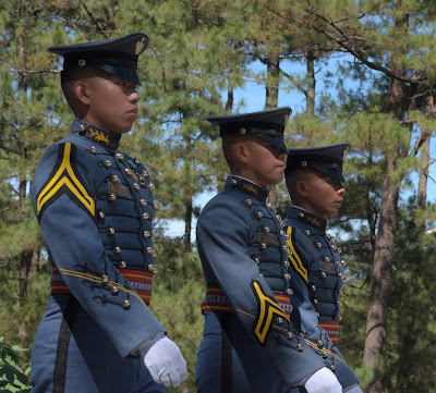 Philippine Military Academy Cadet Upclose