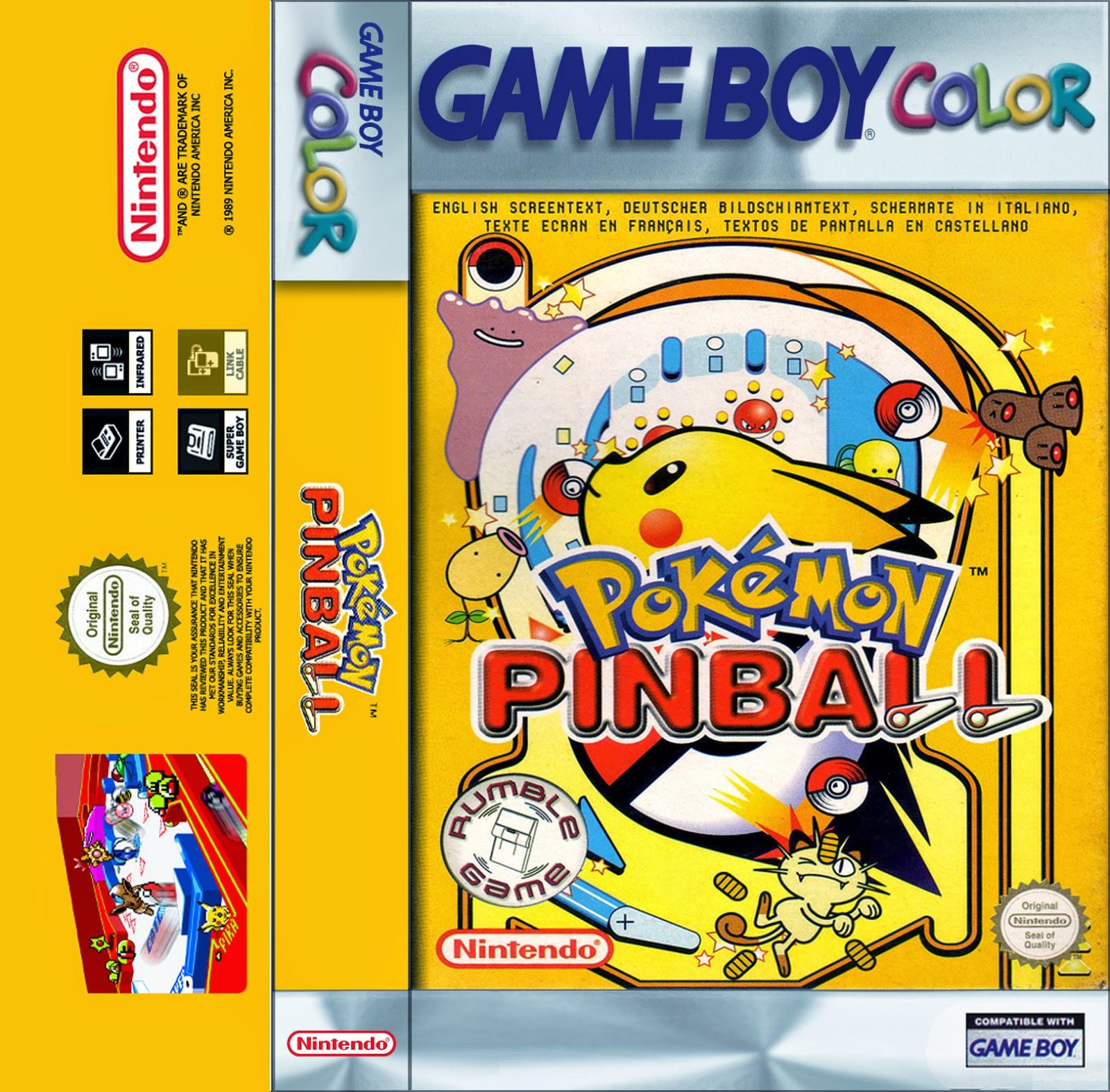Solo Una Partida Mas Pokemon Pinball Game Boy Color