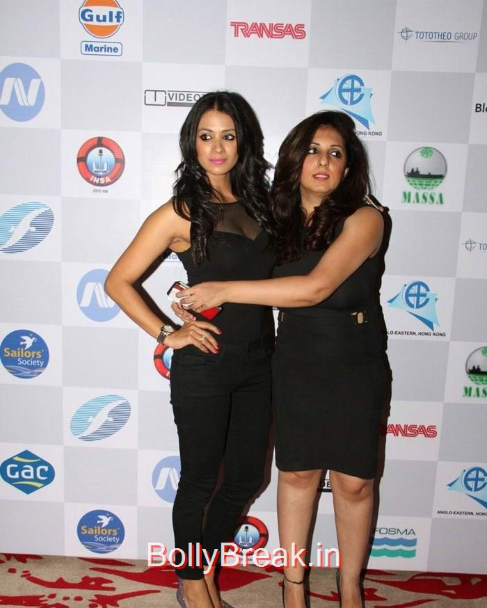 Barkha Bisht Sengupta, Nisha Khatwa, Celebs At 14th Sailor Today Seashore Awards 2015