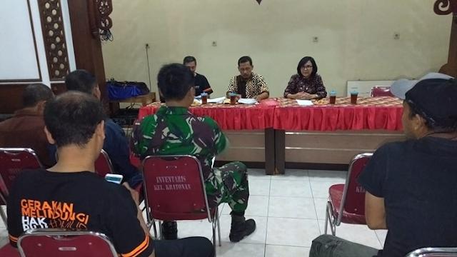 Rapat Pleno Penetapan DPT - TB - 2 (Daftar Pemilih Tetap Tambahan) Babinsa Ikut Hadir
