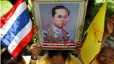 Thailand is mourning the death of King Bhumibol - who is protected from insult by law