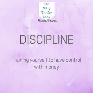 How to use Discipline in order to control your spending