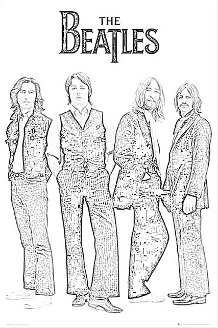 coloring pages beatles coloring pages free and downloadable